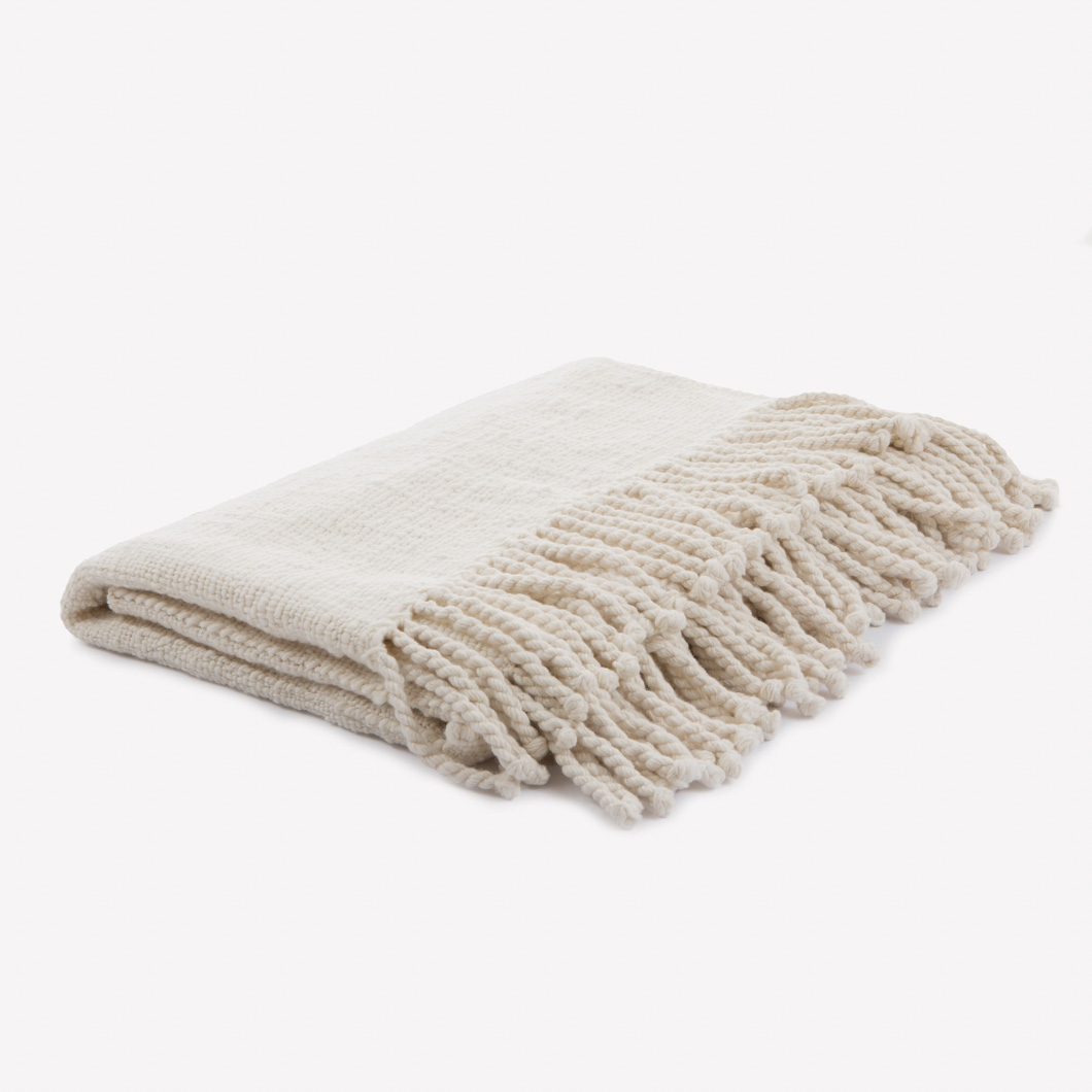 Bhutan Blanket (with fringe)