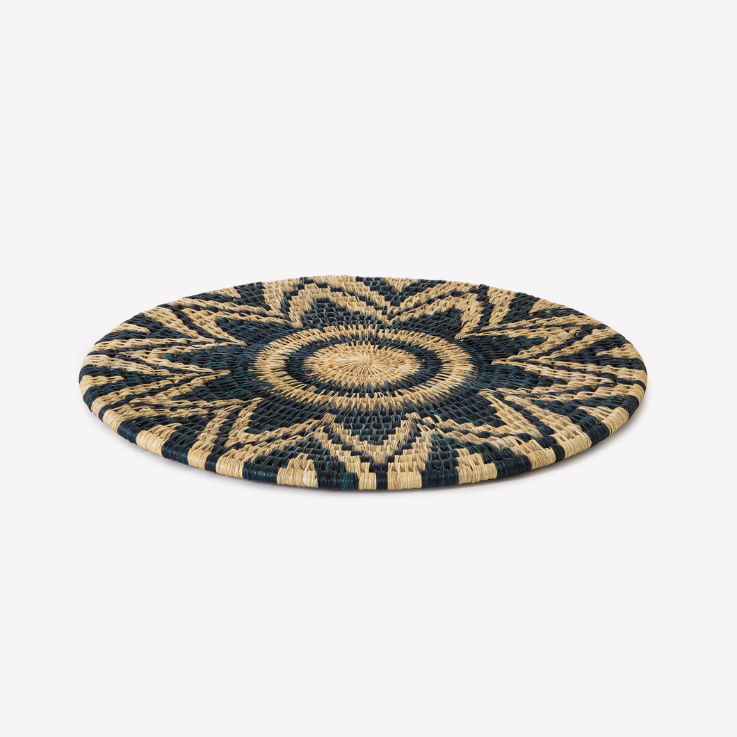 Lutindzi Two Toned Patterned Grass Placemats_