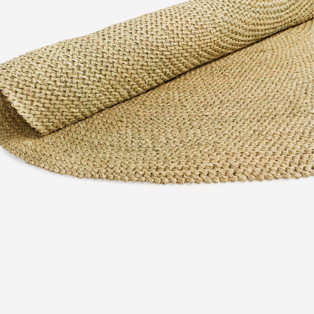 Round Crochet Lutindzi Floor Mat