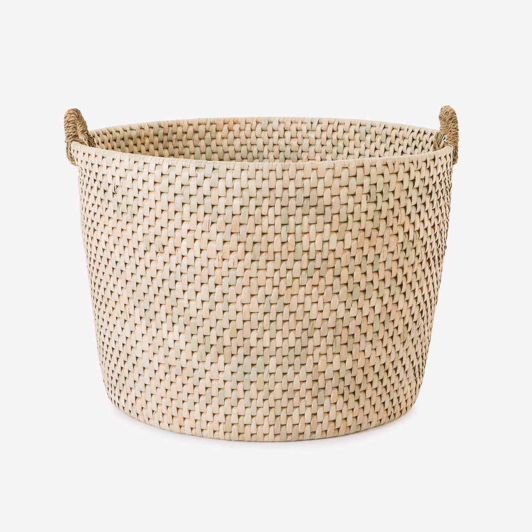Umtsala Round Storage Basket with handles